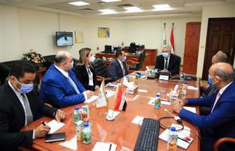 وزير الزراعة يبحث مع رئيس شركة الريف المصري دعم مشروع تنمية الـ 1.5 مليون فدان