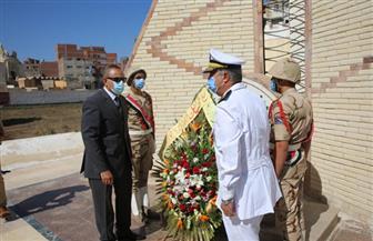 محافظ كفر الشيخ يضع إكليلا من الزهور على قبر الجندي المجهول احتفالاً بذكرى أكتوبر   صور