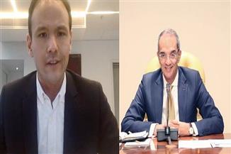 وزير الاتصالات يبحث مع نظيره الفرنسي تعزيز التعاون في إعداد كفاءات رقمية