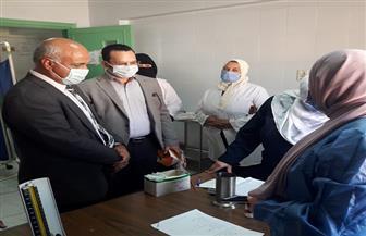 قوافل طبية للكشف على المواطنين بـ 3 قرى احتفالا بالعيد القومي لمحافظة الغربية  صور