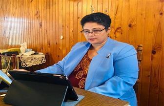 نميرة نجم تستعرض مساهمات الاتحاد الإفريقي في تطوير آليات القانون الدولي| صور