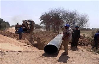 إحلال وتجديد خط مياه الشرب بنصر النوبة في أسوان بتكلفة 20 مليون جنيه   صور