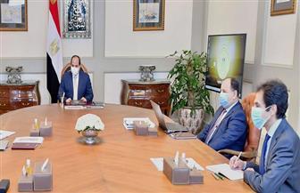 الرئيس السيسي يوجه بتركيز إستراتيجية تطوير منظومة الجمارك على حوكمة عملية التصدير والاستيراد