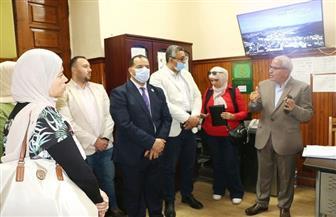ممثلو البرنامج الرئاسي يقضون يوما تدريبيا ومعايشة ميدانية داخل ديوان محافظة القاهرة| صور