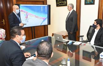 وزير الإسكان يستعرض المخطط الإستراتيجى العام بمدينة رشيد الجديدة  صور