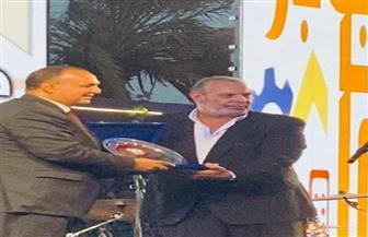 جهاز مدينة 6 أكتوبر يكرم رائد الصناعة محمد فريد خميس| صور