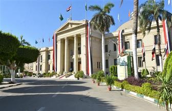 قبة جامعة القاهرة تتزين بأعلام مصر احتفالا بانتصارات أكتوبر| صور