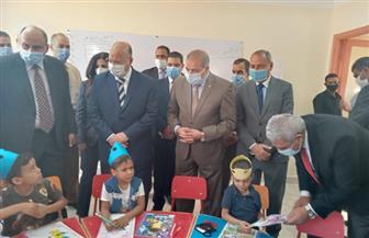 محافظ القاهرة يتفقد القافلة التنموية بالمحروسة بالتعاون مع جامعة الأزهر| صور