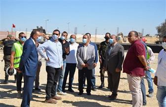 محافظ الإسماعيلية يتفقد مشروع مجمع صوامع الغلال بالمستقبل بتكلفة 100 مليون| صور