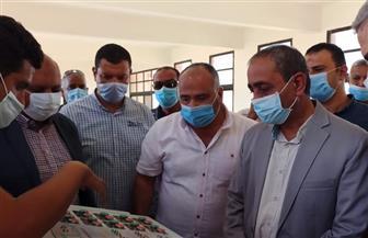 محافظ الإسماعيلية يتفقد مشروع محطة مياه الشرب الجديدة بمدينة المستقبل | صور