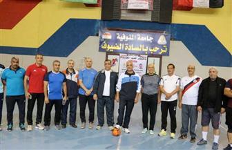 جامعة المنوفية تنظم مهرجانا رياضيا احتفالا بانتصارات أكتوبر | صور