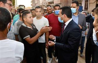 نائب محافظ الفيوم يوجه بضرورة إنهاء أعمال رصف الشوارع الجانبية | صور