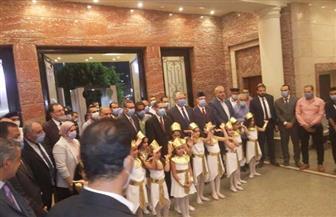 وزير الزراعة يشارك في احتفالية المركز الثقافي بطنطا بالعيد القومي لمحافظة الغربية | صور