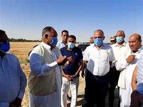 وزير الري يتفقد منطقة بئر خنيس بواحة سيوة في مطروح |صور