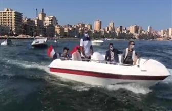 عروض بحرية في الميناء الشرقي بالإسكندرية احتفالا بنصر أكتوبر | صور