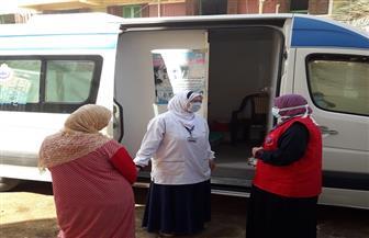 فرق متنقلة للكشف عن الأمراض المزمنة تجوب قرى الغربية   صور
