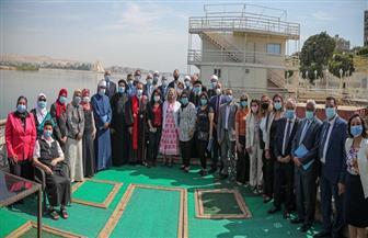 القائم بأعمال رئيس الوكالة الأمريكية للتنمية الدولية ووفد أمريكي يزورون صعيد مصر | صور