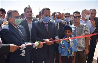 محافظ شمال سيناء يفتتح عددا من المشروعات بالروضة ببئر العبد |صور