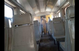 استمرار تعقيم  وتطهير القطارات والسيارات والأسواق لمواجهة كورونا بمطروح| صور