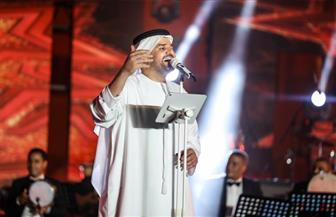 حسين الجسمي: نبضات قلبي تتسارع عندما أصل مصر  صور