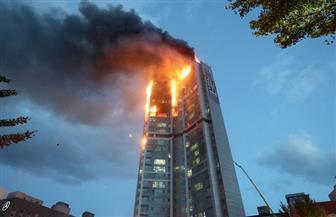 إصابة 88 شخصا في حريق ضخم بمبنى سكني في كوريا الجنوبية