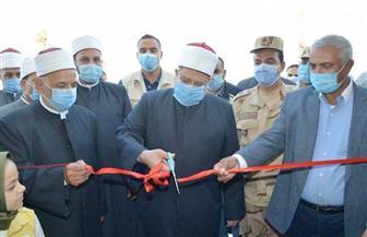 وزير الأوقاف يفتتح مسجد الشهيد أحمد منسي بالإسكندرية| صور