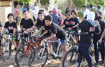 محافظ الفيوم يشارك 300 شاب وفتاة فعاليات ماراثون الدراجات احتفالا بانتصارات أكتوبر| صور