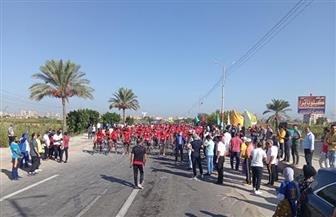 25 فائزا يحصدون جوائز ماراثون الدراجات في كفر الشيخ