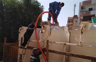 بدء حملة لتطهير خزانات مياه المدارس بالبحر الأحمر استعدادا لبدء العام الدراسي الجديد| صور