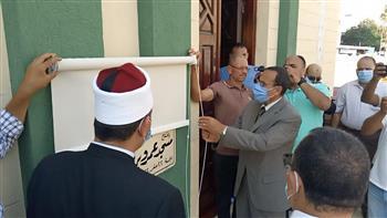 محافظ شمال سيناء يفتتح مسجدا ويوزع عقود وحدات سكنية بمناسبة انتصارات أكتوبر|صور