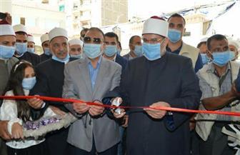 وزير الأوقاف ومحافظ الإسكندرية يشهدان توزيع لحوم صكوك الأضاحي | صور