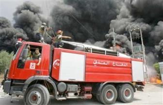 انفجار خزان مازوت  داخل أحد الأفران في ساحة أبو شاكر بلبنان