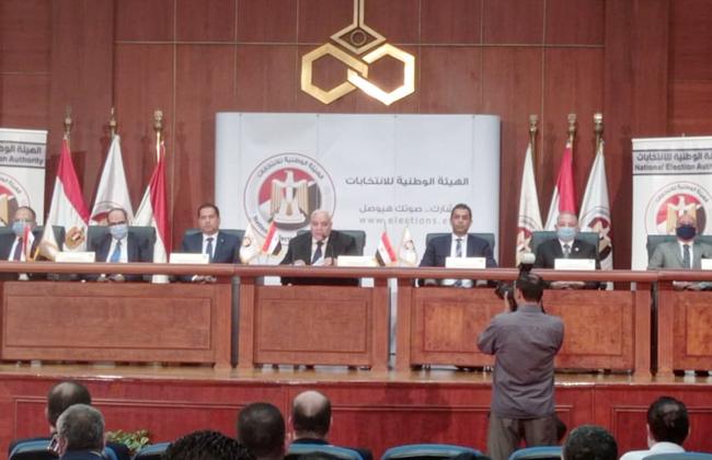 كلمة المستشار لاشين إبراهيم خلال مؤتمر الإعلان عن نتيجة الجولة الأولى من انتخابات النواب