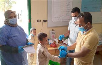 انطلاق مبادرة الرئيس لفحص وعلاج أمراض التقزم لطلاب المدارس بمطروح   صور