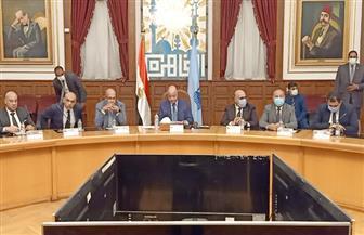 محافظ القاهرة يلتقي أعضاء مجلس الشيوخ| صور