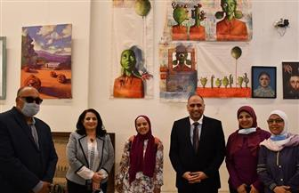 افتتاح معرض «شباب التشكيليين الثاني» بقصر محمد علي | صور