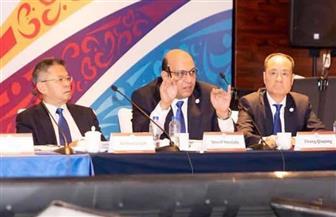 شريف مصطفى يحصد لقب نائب رئيس لجنة الكومنولث بالاتحاد الدولي للكونغ فو