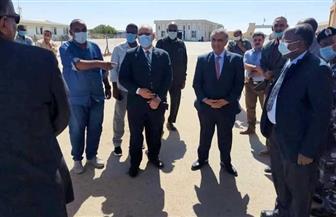 وفد من وزارة النقل يزور مدينة وادي حلفا السودانية