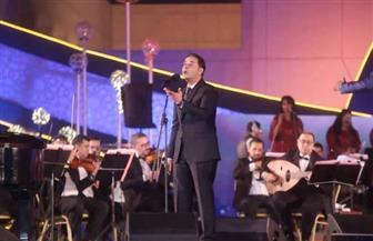 """مدحت صالح يتصدر التريند بـ """"نوستالجيا الطرب"""" فى مهرجان الموسيقى العربية"""