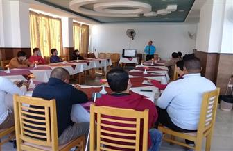 جامعة مطروح: تدريب العاملين بالفنادق على مواجهة انتشار فيروس كورونا   صور
