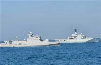 القوات البحرية المصرية والبحرينية تنفذان تدريبا بحريا عابرا في نطاق الأسطول الشمالي