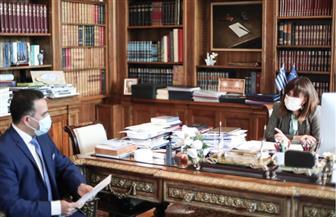 رئيسة اليونان فى حوار خاص لـ«الأهرام»: زيارة الرئيس السيسى لليونان تستهدف زيادة التعاون بين البلدين