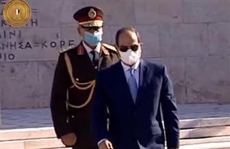انطلاق أعمال القمة المصرية - اليونانية بين الرئيس السيسى ورئيس وزراء اليونان فى أثينا