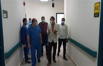 رئيس مدينة القصير يزور مصابي حادث الأتوبيس   صور