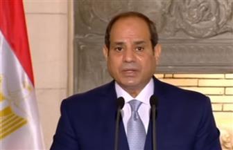 الرئيس السيسي: الإرهاب ظاهرة عالمية ولا يجب ربطها بأي دين على الإطلاق