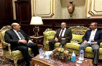 """رئيس """"الشيوخ """" يستقبل عبدالمحسن سلامة لبحث التعاون المشترك بين المجلس ومؤسسة الأهرام"""