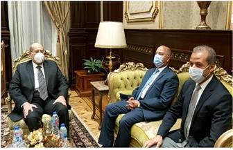 رئيس الشيوخ يلتقي الوزير والجروان وسلامة