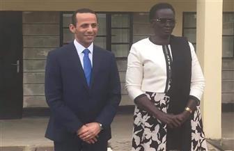 السفير محمد قدح يؤكد حرص مصر على تعزيز العلاقات الوثيقة مع جنوب السودان