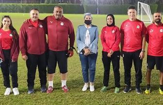 استئناف المعسكر المفتوح لمنتخبي الكرة النسائية