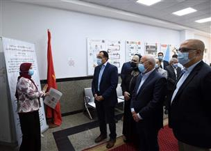 رئيس الوزراء يتفقد المركز التكنولوجي لخدمة المواطنين في بورسعيد